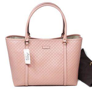 💯 Auth GUCCI micro GUCCISSIMA  Leather Tote Bag